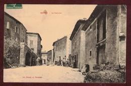 Boffres La Fontaine Rue Animée * Ardèche 07440 * Boffres Arrondissement De Tournon-sur-Rhône - Other Municipalities