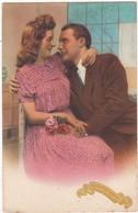 Couple : Bonne Année : Couple Assis - Tendresse Et Amour - - Couples