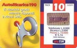 Ricarica Telefonica Tim Lire 10.000 - Italie