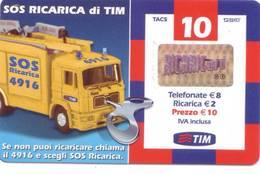 Ricarica Telefonica Tim Euro 10 - Italie
