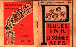94466) CALENDARIO-ALMANACCO DEI PROVERBI 1928 - Calendars