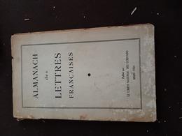 Almanach  Des Lettres  Françaises  De 1944 - Opéra