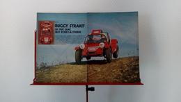 Ancienne Coupure De Presse Automobile Buggy Strakit De 1976 - Other