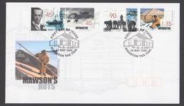 AUSTRALIE AAT 1999 FDC Mawson's Huts - FDC