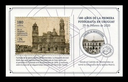 Uruguay 2020 Mih. 3701 (Bl.155) First Photography In Uruguay MNH ** - Uruguay
