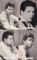 Cliff Richard Valex V20 V19 V18 V22 FOUR Real Photo Postcard S - Musica E Musicisti
