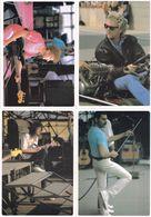 Queen Freddy Mercury Brian May Roger Taylor 4x Postcard S - Musica E Musicisti