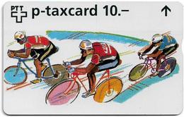 Switzerland - Swisscom (L&G) - W-Cards - W28B - Sports - Weltklasse Zürich - 622L - 02.1996, 10Fr, 4.450ex, Used - Suiza