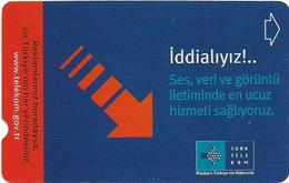 Turkey - TT - Alcatel - Turk Turk Telekom 2 - Arrow, Bilisim 2001, 5U, 2001, 75.000ex, Used - Turkije