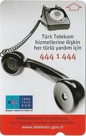 Turkey - TT - Alcatel - Turk Turk Telekom 6 - Phone, Bilisim 2001, 5U, 2001, 75.000ex, Used - Turkije