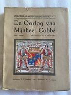 Prims - De Oorlog Van Mijnheer Cobbé 1722-1724 - 1927 - Tekeningen Door M. Pauwaert - Nabab & De Mooren - Historia