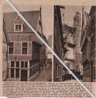 MECHELEN.1931. HEROPBOUW VAN DE PEKTON/ HOEK STEENSTAAT STOOFSTRAAT/ RIDDER DESSAIN/ BROUWERIJEN LAMOT/A. MINNER - Zonder Classificatie