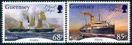 Europa 2020 - Guernsey Guernesey - Mail Ships (Ariadne & Alberta) ** - Marittimi