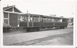 Photo - Train  - Autorail Renault En Gare à Binic - Chemin De Fer De Côtes Du Nord - Cotes D'armor -  -22 - Trains