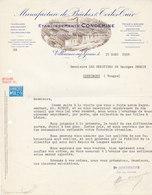 Condemine , Bâches Et Toiles à Villeneuve Sur Yonne , Courrier Illustré De 1938 - 1900 – 1949