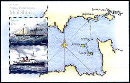 Europa 2020 - Jersey - Mail Ships Feuillet (Cygnus & Isle Of Jersey) ** - Ships
