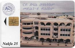 Eritrea - Eritel - Building - 25Nfk, Exp. 07.2000, 30.000ex, Mint - Erythrée