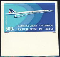 MALI (1976) Concorde. Imperforate. Scott No C270, Yvert No PA266. - Mali (1959-...)