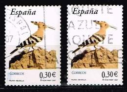 Spanien 2007,Michel# 4197 O Eurasian Hoopoe (Upupa Epops) - 1931-Hoy: 2ª República - ... Juan Carlos I