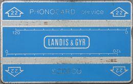 Mali - L&G - 810S - Blue Sodeco Service Card, 240U, Used - Mali