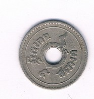 1/2 SATANG 1937  THAILAND /3895/ - Thailand