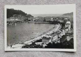 Cartolina San Sebastian - Vista Desde La Villa Eva-Enea, Per Roma 1937 - Spanien