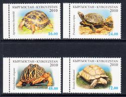 2010 Kyrgyzstan Turtles  Complete Set Of 4 MNH - Kyrgyzstan