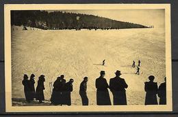 GIRON    ( Ain )   -    1925  .   Une  Piste  De Ski. - Autres Communes