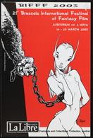 Artist Drawing FRANK Brussels International Festival Of Fantasy Calendar Calendrier Film BD Dessin BIFFF - Tamaño Pequeño : 2001-...