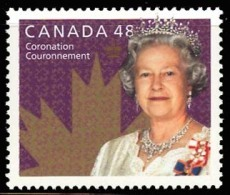 Canada (Scott No.1987 - 50e Du Couronnement De La Reine / 50th Aviversary Of The Coronation Of The Queen) [**] - 1952-.... Règne D'Elizabeth II