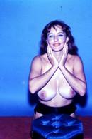 Lot Of 2 COLOR SLIDE 35mm Photo Nude Breast Naked Erotic PIN UP Woman. Identified Model By Photographer BARBARA MARTINE - Celebrità Di Una Volta