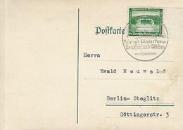 Germany - Olympic Games (Berlin 1936) - Postmark (Football = Germany / Italy) - Summer 1936: Berlin