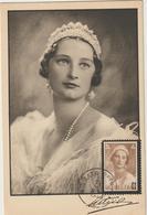 Carte Maximum BELGIQUE  N°Yvert 412 (Reine Astrid) Obl Sp 1938 - Maximumkarten (MC)