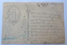 Handgemalt, Im Schwarzen Bär Zu Lichtenthal   1896 ♥   (17972) - Cartes Postales