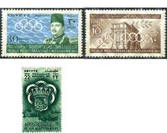 Ref. 77922 * MNH * - EGYPT. Kingdom. 1951. 1st MEDITERRANEAN GAMES . 1 JUEGOS MEDITERRANEOS - Egypt