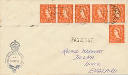 VENEDIG  - 1959  ,  PAQUEBOT  -  S.S. ORCADES   - Nach Lancashire - 1952-.... (Elisabetta II)