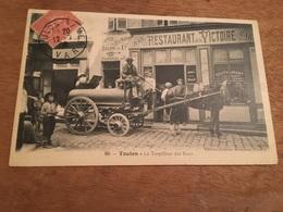 Ancienne Carte Postale - Toulon - Le Torpilleur Des Rues - Toulon
