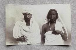 """U.P.U. Cartolina Postale Egitto - Scene E Tipi """"Types Derviches Du Soudan"""", Per Ferrara 1920 - Africa"""