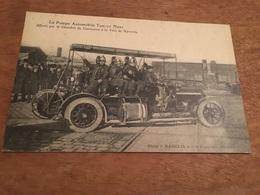 Ancienne Carte Postale - Marseille - La Pompe Automobile Turcat Mery - Offerte Par La Chambre De Commerce - Canebière, Centre Ville