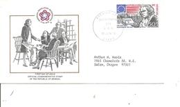 Indépendance USA ( FDC Du Sénégal De 1976 à Voir) - Unabhängigkeit USA