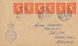 LISBOA  - 1960  ,  PAQUEBOT -  S.S. ORIANA  - Nach OLDHAM / Lancashire - 1952-.... (Elisabetta II)