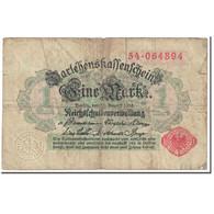 Billet, Allemagne, 1 Mark, 1914, 1914-08-12, KM:50, B - Andere