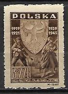 POLOGNE   -   1946.  Y&T N° 465 *. - Unused Stamps