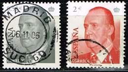 Spanien 2002,Michel# 3708, 3711 O King Juan Carlos I - 1931-Hoy: 2ª República - ... Juan Carlos I