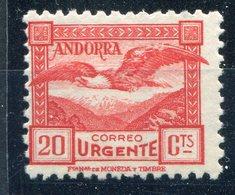 ANDORRA    Nº 44  Sin Charnela  - 136 - Ungebraucht