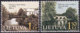 LITAUEN 2001 Mi-Nr. 760/61 ** MNH - Lithuania