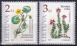 LITAUEN 2001 Mi-Nr. 758/59 ** MNH - Lituanie