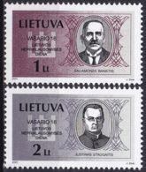 LITAUEN 2001 Mi-Nr. 751/52 ** MNH - Lithuania