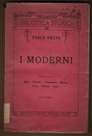 I MODERNI Di Paolo Orano - Books, Magazines, Comics