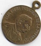 Médaille En Laiton - Félix Faure Président De La République - Frankrijk